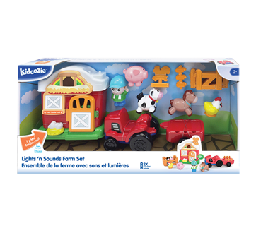 Image 2 of product Kidoozie - Lights 'n Sounds Farm Playset, 1 unit