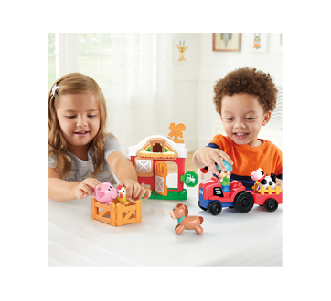 Image 3 of product Kidoozie - Lights 'n Sounds Farm Playset, 1 unit