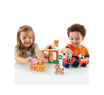 Image 4 of product Kidoozie - Lights 'n Sounds Farm Playset, 1 unit