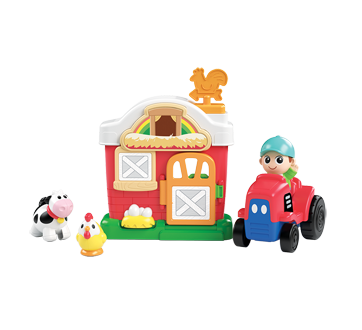 Image 5 of product Kidoozie - Lights 'n Sounds Farm Playset, 1 unit