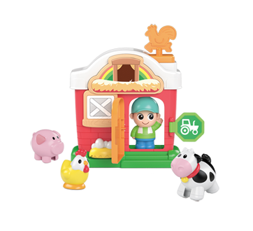 Image 6 of product Kidoozie - Lights 'n Sounds Farm Playset, 1 unit