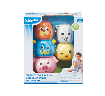 Image 2 of product Kidoozie - Stack 'n Shake Animal Friends, 1 unit