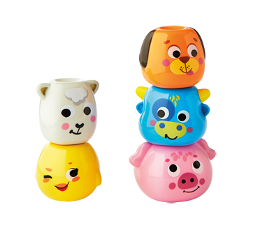 Image 3 of product Kidoozie - Stack 'n Shake Animal Friends, 1 unit