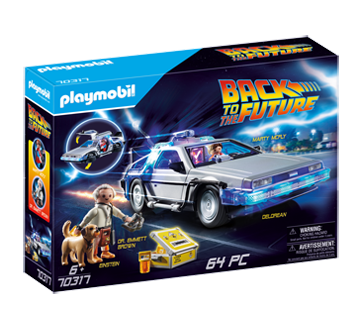 Image of product Playmobil - Delorean Export, 1 unit