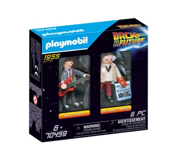 Image of product Playmobil - 2 Figure Set Marty & Doc.Brown, 1 unit