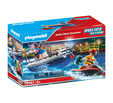 Image of product Playmobil - Jewel Heist Getaway, 1 unit