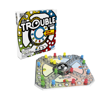 Image 2 of product Hasbro - Trouble Board Game, 1 unit