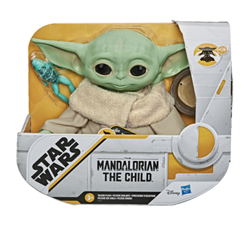 Image 1 of product Star Wars - The Child Talking Plush Toy, 1 unit