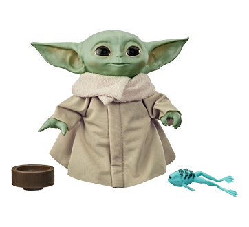 Image 2 of product Star Wars - The Child Talking Plush Toy, 1 unit