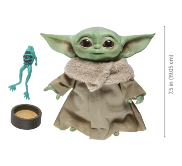 Image 3 of product Star Wars - The Child Talking Plush Toy, 1 unit