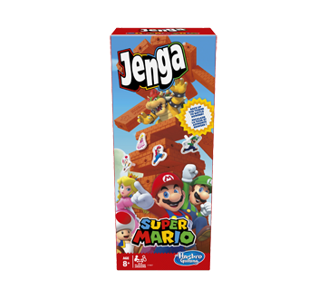 Jenga Super Mario Edition Game, 1 unit