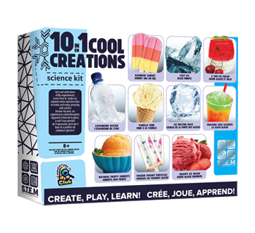 10 in 1 Cool Creation Science Kit, 1 unit