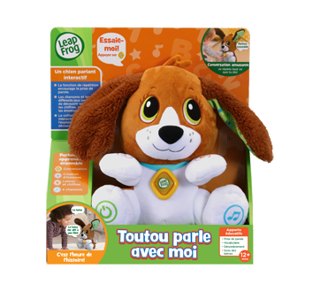 Speak and Learn Puppy French Version, 1 unit