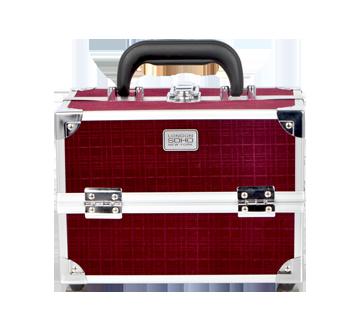 Velvet Grid Hard Case, 1 unit, Purple