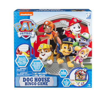 Dog House Bingo Game, 1 unit