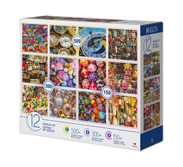 Adult Puzzle 12-in-1, 1 unit