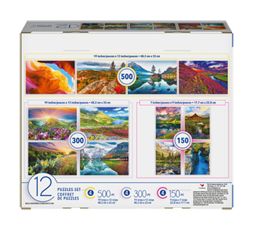 Image 3 of product Spin master - Adult Puzzle 12-in-1, 1 unit