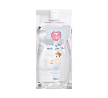 Baby Oil Fragrance Free, 592 ml