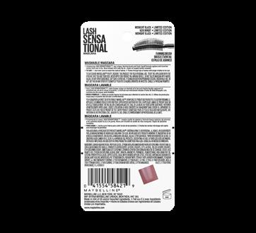 Image 3 of product Maybelline New York - Lash Sensational Washable Mascara, 9.5 ml, Midnight Black