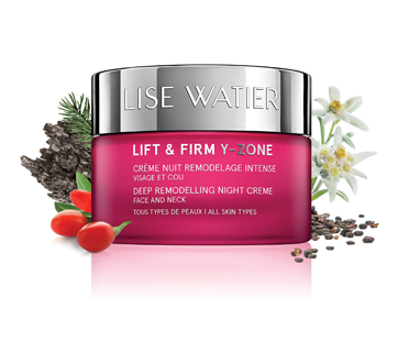 Image 3 of product Lise Watier - Lift & Firm Y-Zone Deep Remodelling Night Creme, Face and Neck, 50 ml