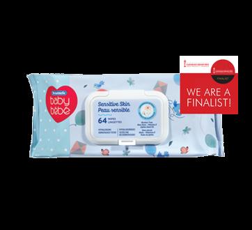 Sensitive Skin Baby Wipes, 64 units