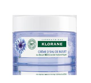 Water Cream with Organic Cornflower, 50 ml