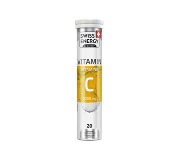 Image of product Swiss Energy - Vitamin C, 20 units, Lemon flavour