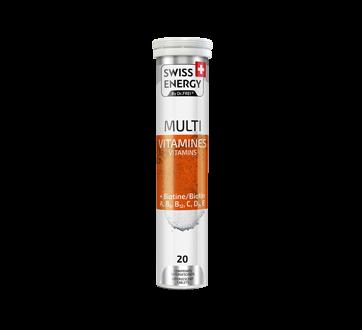 Image of product Swiss Energy - Multivitamins + Biotin, 20 units, Orange flavour