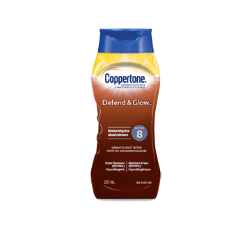 Defend & Glow Sunscreen Lotion SPF 8, 237 ml