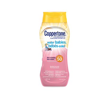 Water Babies Lotion Sunscreen SPF 50, 237 ml