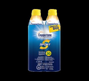 Sport Spray Sunscreen SPF 30, 2 x 222 ml