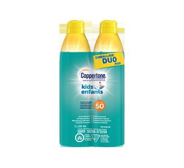 Kids Spray Sunscreen SPF 50, 2 x 222 ml
