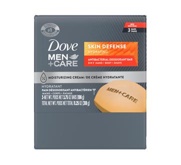 Skin Defense Hydrating Antibacterial Deodorant Bar, 318 g