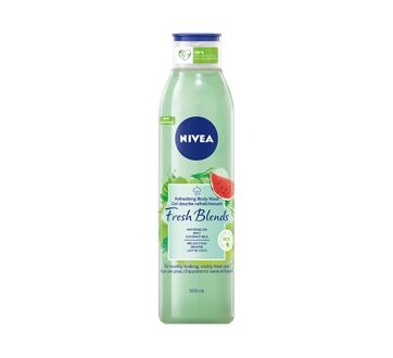 Fresh Blends Refreshing Body Wash, 500 ml, Watermelon Mint & Coconut Milk