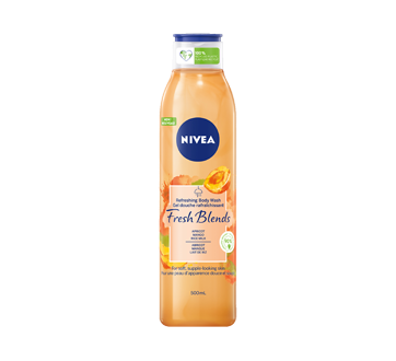 Fresh Blends Refreshing Body Wash, 500 ml, Apricot Mango & Rice Milk
