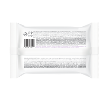 Image 2 of product Attitude - All-Purpose Cleaning Wipes Disinfectant 99.99%, 72 units, Lavender & Thyme