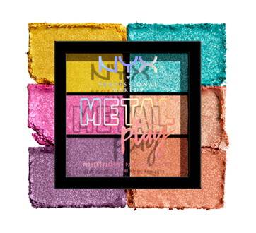 Image 3 of product NYX Professional Makeup - Metal Play Pigment Palette, 1 unit