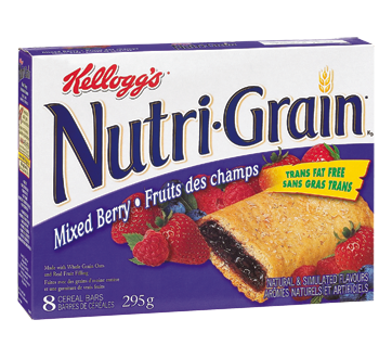 Nutri-Grain Cereal Bars Mixed Berry, 295 g