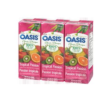 Tropical Passion Juice, 3 x 200 ml
