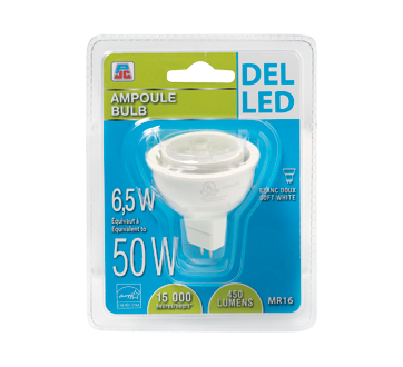 LED Bulb 6.5/50W, soft white