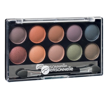 Image of product Personnelle Cosmetics - Eye Shadow Palette 10, 10 x 0.9 g Equinoxe
