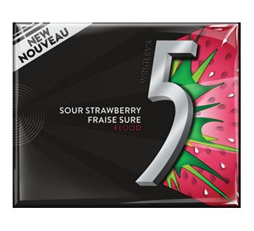 Flood Gum, 15 pieces, Sour Strawberry