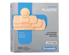 Image of product Personnelle - Bandages Plastic, 100 units