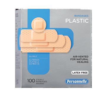 Image of product Personnelle - Bandages Plastic, 100 units