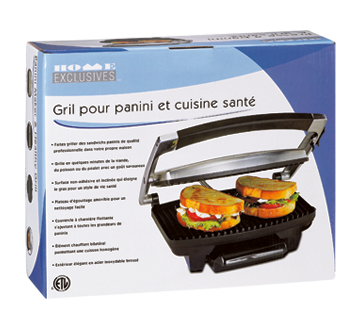 Image 2 of product Home Exclusives - Panini Maker and Healthy Grill