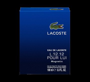 Eau de Lacoste L.12.12 Magnetic Eau de Toilette for Men, 100 ml
