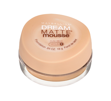 Image 2 of product Maybelline New York - Dream Matte Mousse Foundation, 15 g Light Beige
