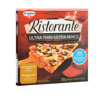 Image of product Dr. Oetker - Ristorante Pizza Ultra Thin, 310 g, Roasted Mushrooms & Garlic