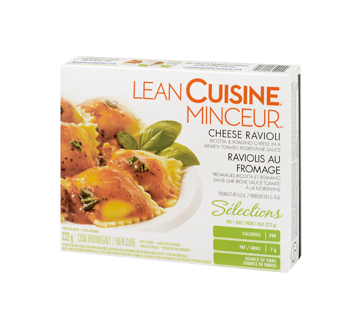 Image 3 of product Cuisine Minceur - Cheese Ravioli, 222 g