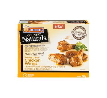 Country Naturals Chicken Wings, 750 g, Honey garlic